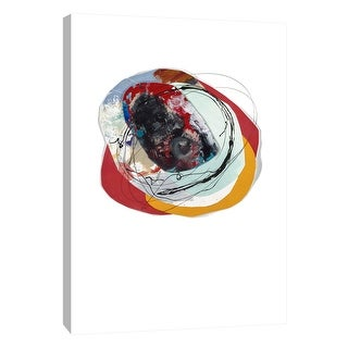 "PTM Images 9-108609  PTM Canvas Collection 10"" x 8"" - ""Cairn 7"" Giclee Abstract Art Print on Canvas"