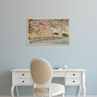 Easy Art Prints Unknown's 'Cherry Blossom Time' Premium Canvas Art