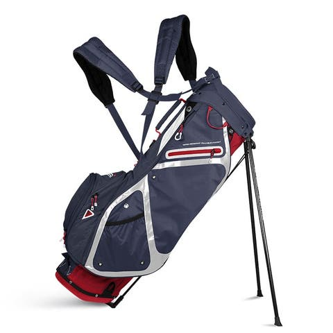 Sun Mountain Ladies 3.5 LS (No Logo) Stand Bag - Red / Navy / White -CLOSEOUT - Red / Navy / White