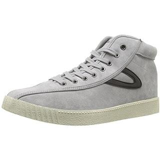 Tretorn Mens Nylite Hi7 Fashion Sneakers Suede Hi Top
