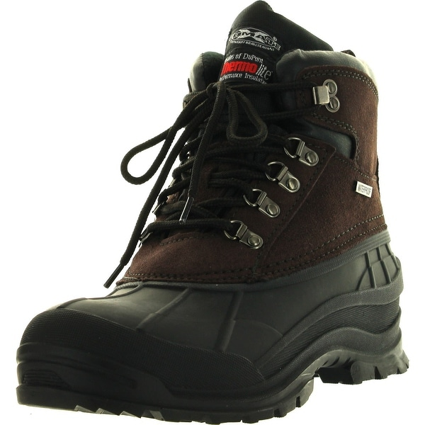 9f6b5b778285 Mens Winter Boots Hiking Snow Ski Leather 6