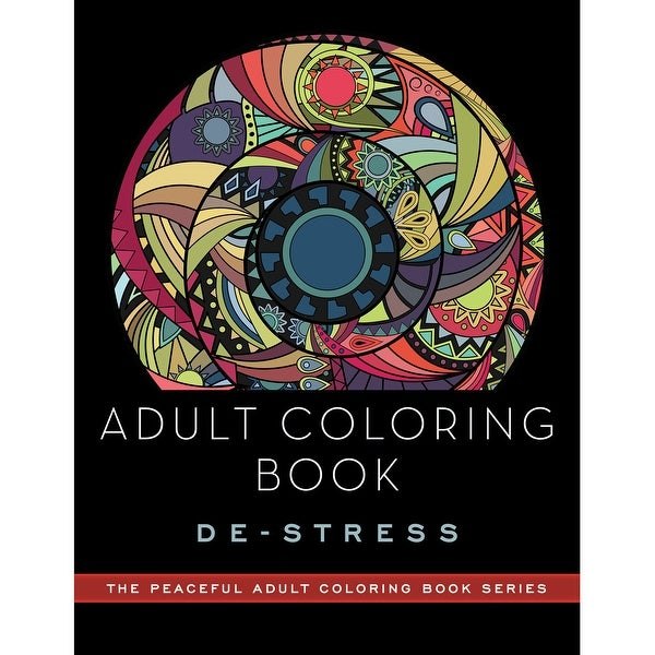 Skyhorse Publishing-Adult Coloring Book: De-Stress