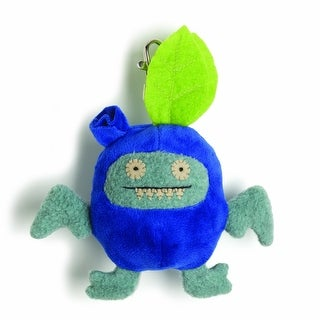 """Ugly Dolls Fruities 4"""" Plush Clip-On: Ice-Bat Blueberry"""