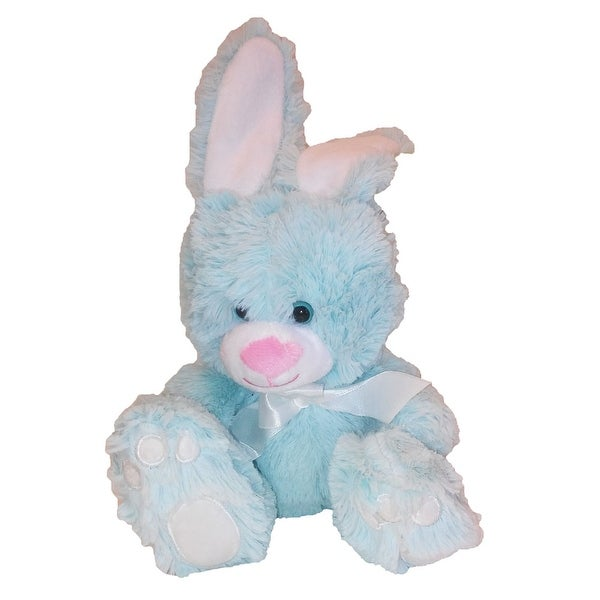 Animal Adventure Plush Toy Sitting Bunny W Bow