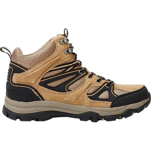 Shop Nevados Men s Talus Mid Hiking Boot Light Brown Black Suede - On Sale  - Free Shipping Today - Overstock.com - 22205861 ca1b9bcaa990