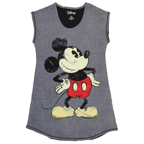 Shop Disney Women s Mickey Mouse Nightgown Sleep Shirt - Free Shipping On  Orders Over  45 - Overstock - 20875224 7a8433f9ff