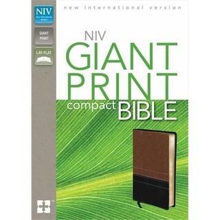 Zondervan 52304 Niv Giant Print Compact Bible Sierra Black Duotone