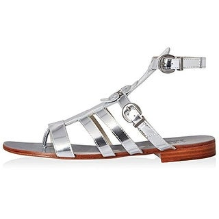 Australia Luxe Womens Palm Gladiator Sandals Leather T-Strap