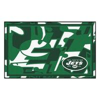 NFL New York Jets 4 x 6 Foot Plush Non-Skid Area Rug