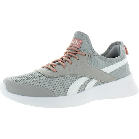 Reebok Womens Royal EC Ride 2 Sneakers Astro Cruise Footbed Low Top - Stark Grey/White/Chalk