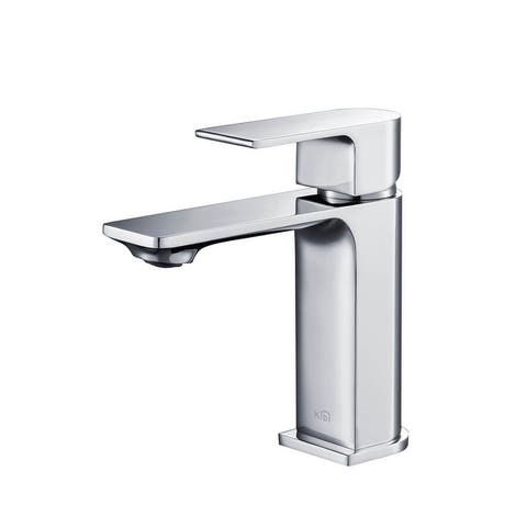Lead-free Solid Brass Single Handle Bathroom Vanity Faucet with Hose