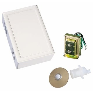 Air King SBK200 Single Entry Lighted Two Note Chime Kit - White