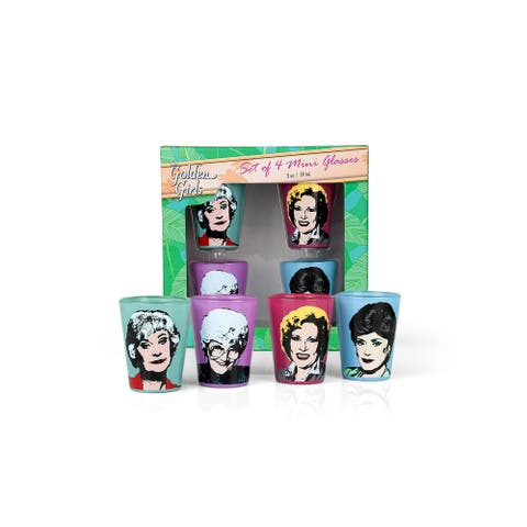 Golden Girls 2oz Character Shot Glasses