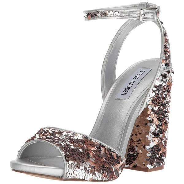 8737574b6c0 Shop Steve Madden Womens Ritzy Open Toe Special Occasion Ankle Strap ...