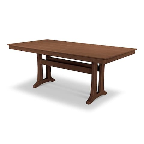"POLYWOOD Farmhouse 37"" x 72"" Dining Table"