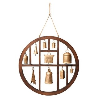 Circle of Bells Indoor/Outdoor Wind Chime - 18 in.