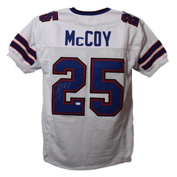new styles 60ebc 9a208 LeSean McCoy Autographed Buffalo Bills XL White Jersey JSA