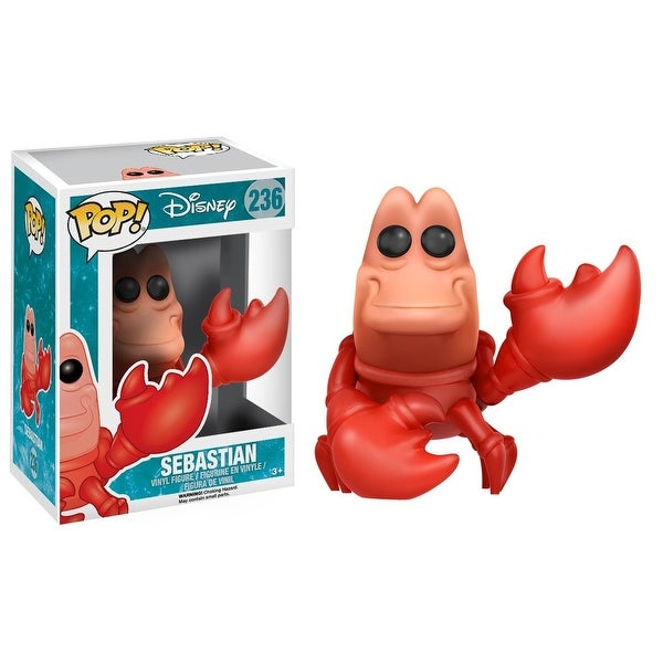The Little Mermaid Funko POP Vinyl Figure: Sebastian