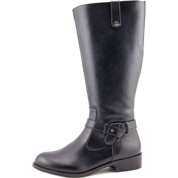 ARRAY Womens Mallory Closed Toe Mid-Calf Riding Boots