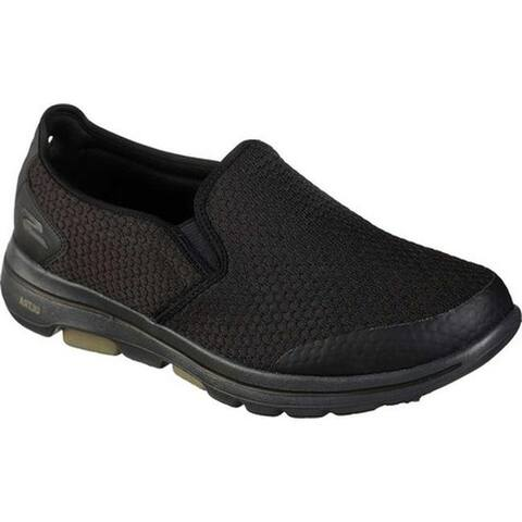 best authentic f877f bac88 SALE. 1. Skechers Men s GOwalk 5 Apprize Slip-On Black Black