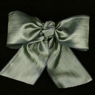 "Amber Deco Moire Satin Craft Ribbon 4"" x 27 Yards"