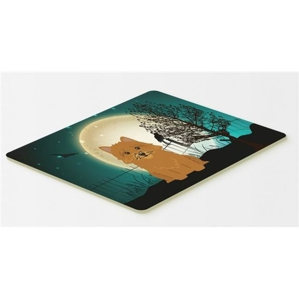 Carolines Treasures BB2210CMT Halloween Scary Norwich Terrier Kitchen or Bath Mat 20 x 30