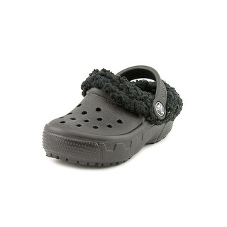Crocs Mammoth Evo Toddler  Round Toe Synthetic Black Clogs