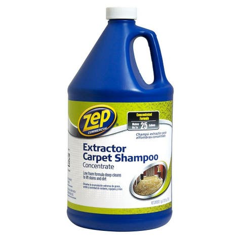 Zep Commercial ZUCEC128 Extractor Carpet Shampoo Concentrate, 1-Gallon