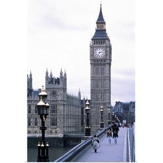 """""""Big Ben in London"""" Poster Print"""