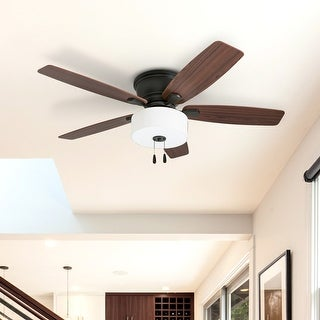 Link to The Gray Barn Dorneywood 52-inch Coastal Indoor LED Ceiling Fan with Pull Chains 5 Reversible Blades - 52 Similar Items in Ceiling Fans