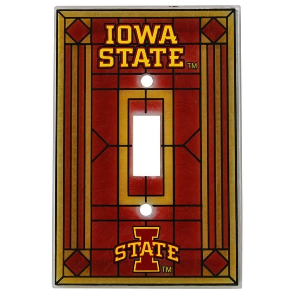 Shop Iowa State Cyclones Art Glass Light Switch Cover Free