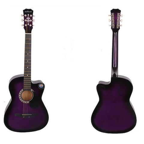 New Professional Acoustic Callaway Folk 38 inch Guitar STAGE ESSENTIALS