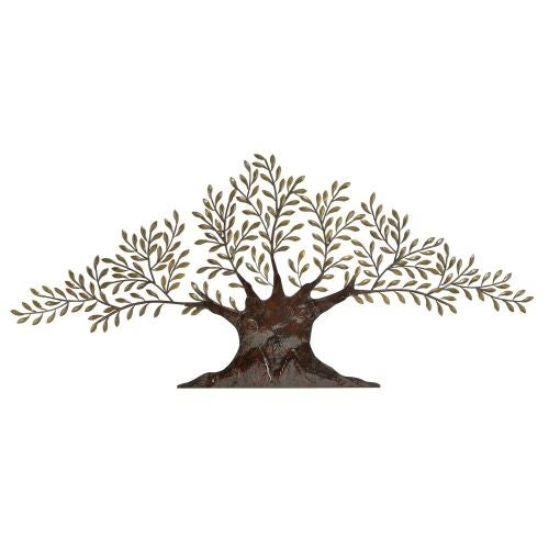 Aspire Home Accents 68501 Large Metal Olive Tree Wall Decor