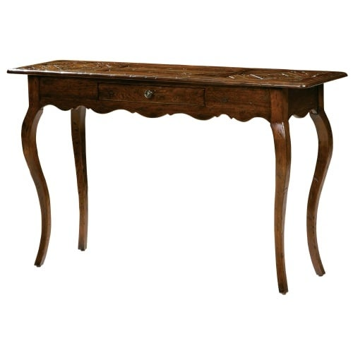 Hekman 87210 Rue De Bac 54 Inch Wide Wood Sofa Table With Drawer