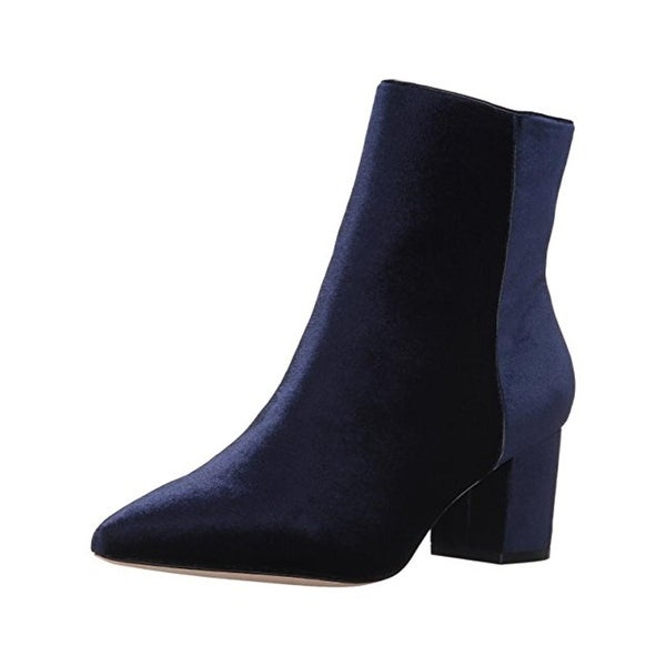 Steven By Steve Madden Womens Bollie Booties Pointed Toe Dress