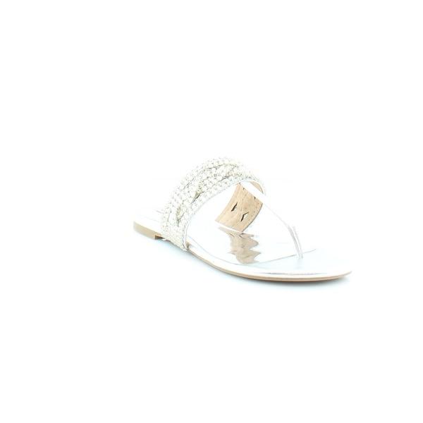 Badgley Mischka Trent Women's Sandals & Flip Flops SilMet