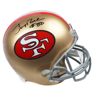 Jerry Rice San Francisco 49ers Throwback Riddell Full Size Replica Helmet