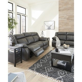 Link to Denoron Power Rocker Recliner, Gray Similar Items in Living Room Furniture Sets
