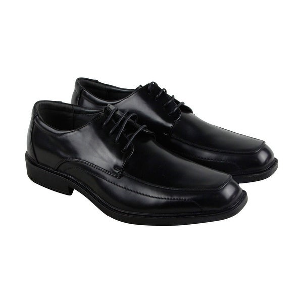 Unlisted by Kenneth Cole Secret Mission Mens Black Casual Dress Oxfords Shoes