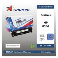 Triumph Remanufactured 312A Toner Cartridge - Cyan Toner Cartridge
