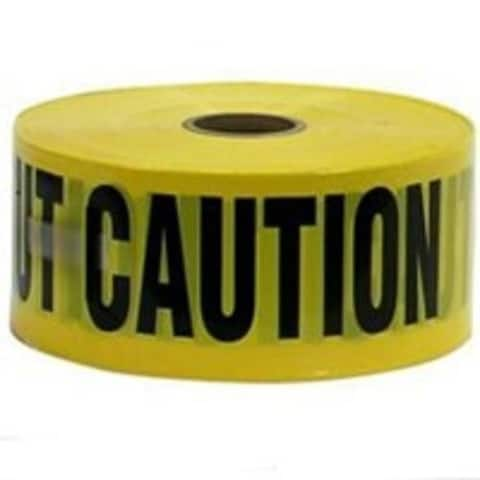 CH Hanson 16000 Tape Caution, 1000 Ft