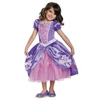 Girls Deluxe Sofia The Next Chapter Princess Costume