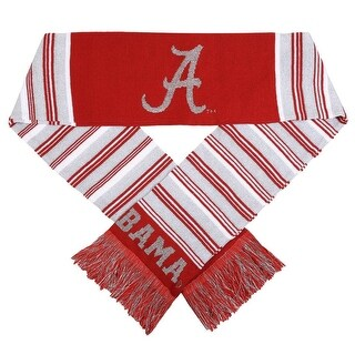 Alabama Crimson Tide Glitter Scarf