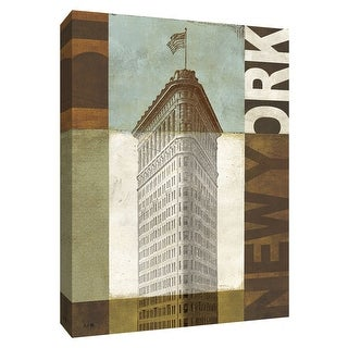 "PTM Images 9-154790  PTM Canvas Collection 10"" x 8"" - ""Urban New York"" Giclee Buildings and Landmarks Art Print on Canvas"