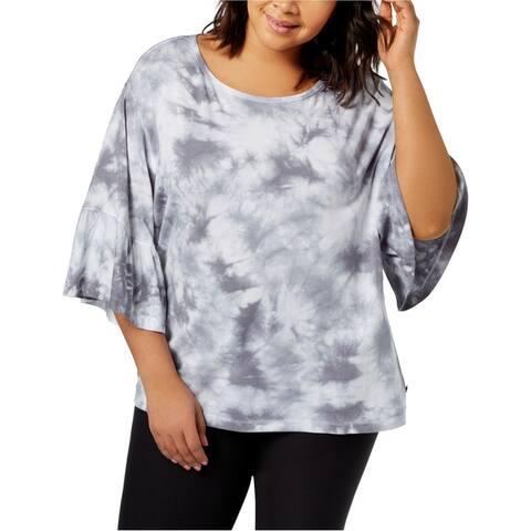 Calvin Klein Womens Tie-Dyed Basic T-Shirt