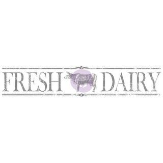 Iron Orchid Designs Decor Transfer Rub-Ons-Fresh Dairy 2/Pkg