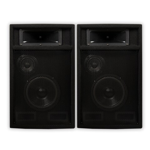"Acoustic Audio PA-365X Passive DJ Speakers 6.5"" PA Karaoke 3-Way Studio Home"