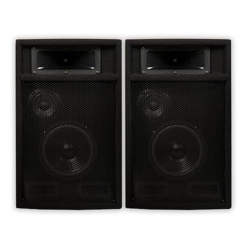 "Acoustic Audio PA-365X Passive DJ Speakers 6.5"" PA Karaoke 3-Way Studio Home"