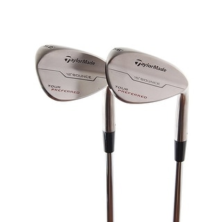 New TaylorMade Tour Preferred Wedges 52.12* & 56.15* RH w/ DG AMT Steel Shaft