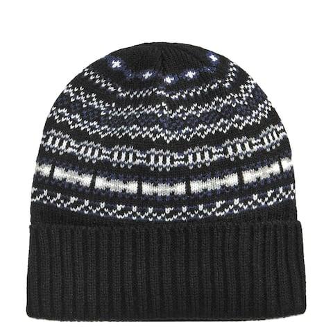 Club Room Mens Isle Knit Beanie Hat - One Size